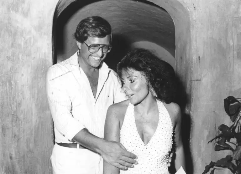 An image taken of the couple before Maurizio's death
