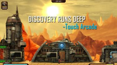 In Mines of Mars discovery runs deep