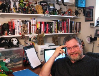 Jonathan in his office