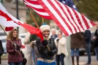 The S&T community celebrates at the 2017 Homecoming parade. October 29, 2017. Jesse Cureton / Missouri S&T
