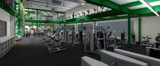 The number of fitness machines will double with the expansion.
