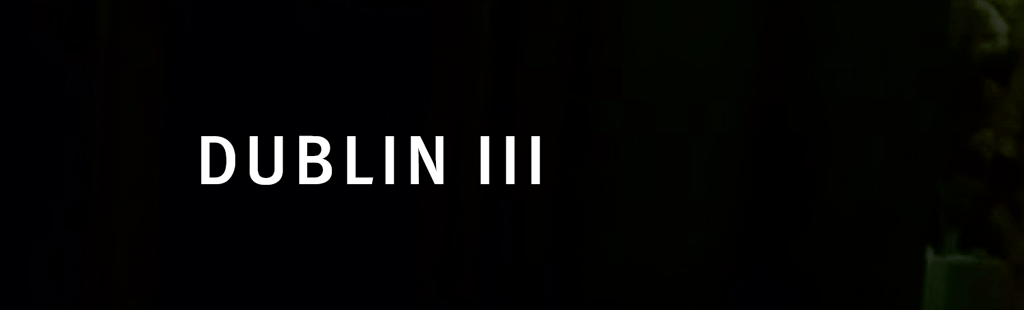 Die Dublin III Verordnung