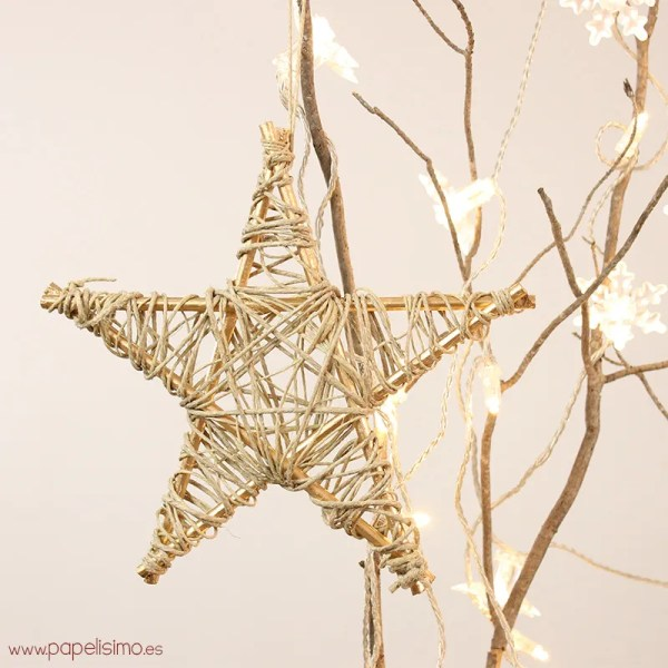 stella di natale fai da te in legno