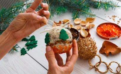 decorazioni natalizie per l'albero fai da te