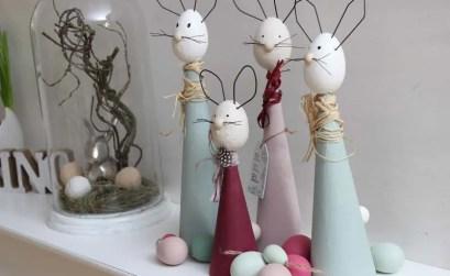 decorazioni per la Pasqua - decor conigli