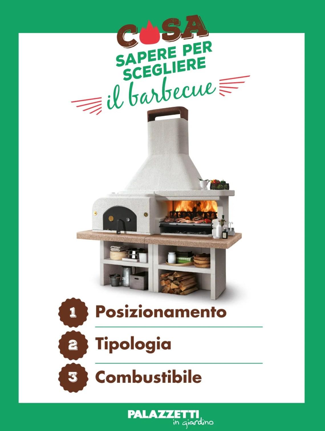 3 cose da sapere per scegliere un barbecue: posizionamento, tipologia e combustibile.