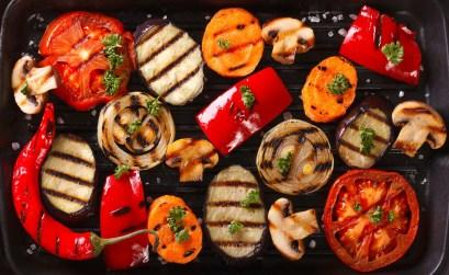 contorni per grigliata di carne - verdure miste alla griglia