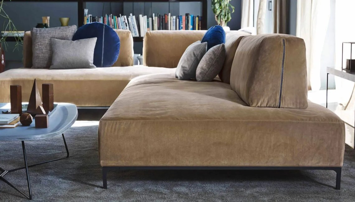 arredamento dell'autunno - divano angolo