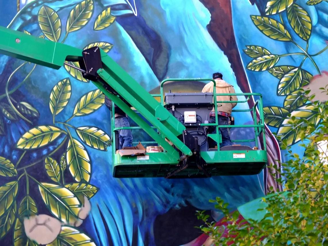 murales anti smog - iena cruz