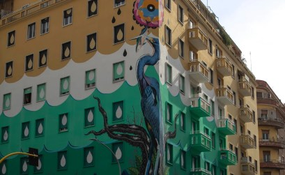 murales mangia smog - hunting pollution Roma