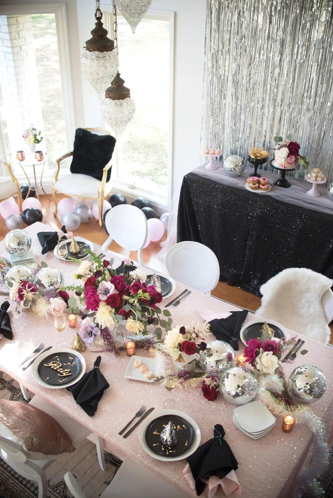 tavola delle feste - capodanno