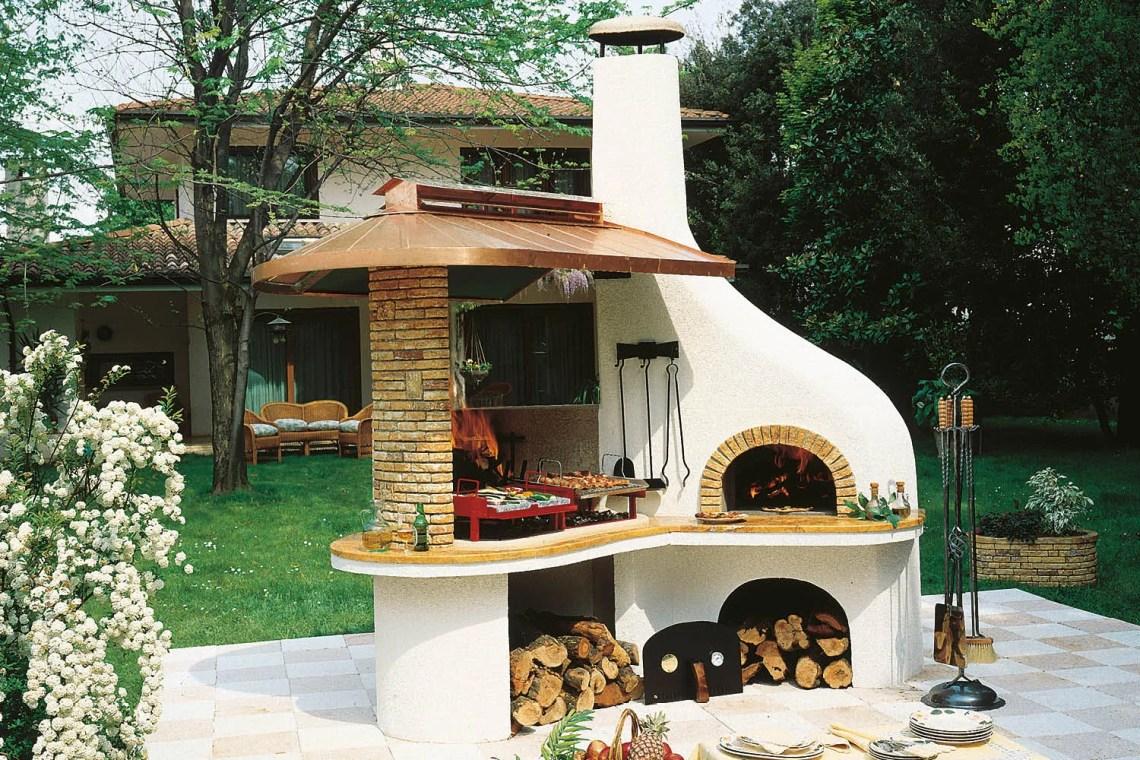 forno a legna - Barbecue Palazzetti Vulcano 2