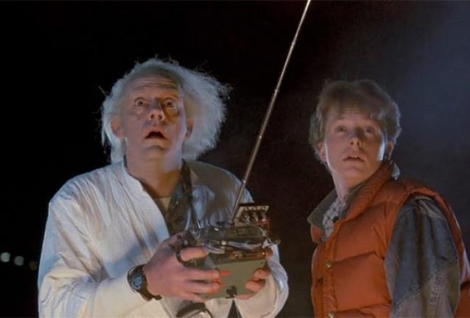 marty and Doc