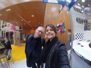 Me and Jurjen in Niekée