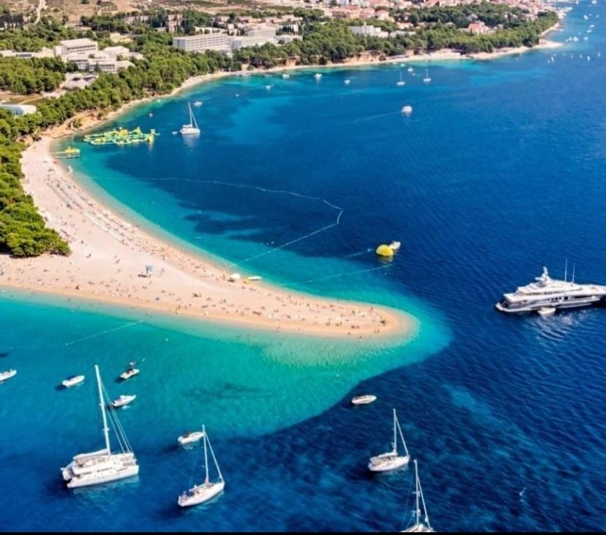 Hvar Zlanti Rat Beach and Bay in Croatia