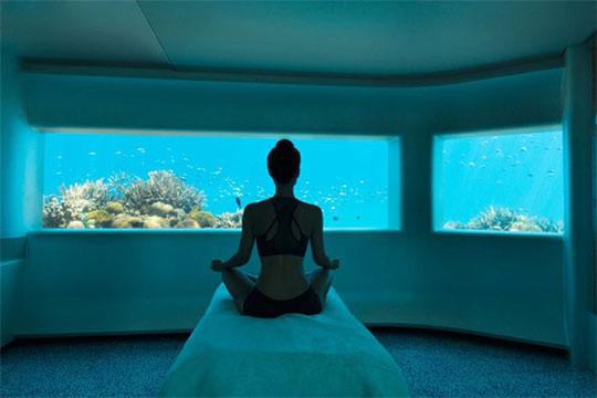 Aquum underwater spa