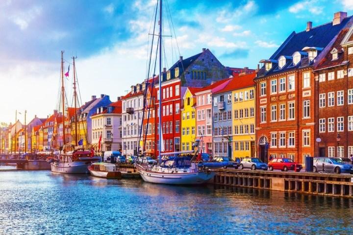 Nyhavn in Copenhaagen