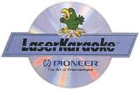 Il logo del formato Laser Karaoke di Pioneer.