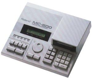 Il lettore MC500 Roland