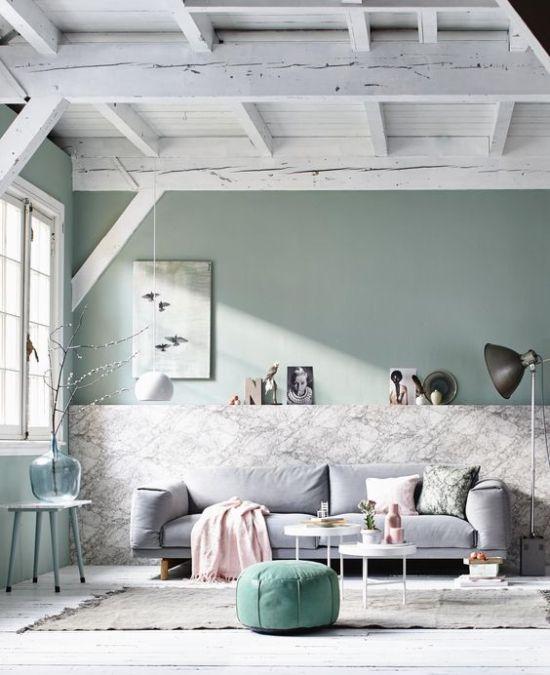 pareti verde salvia