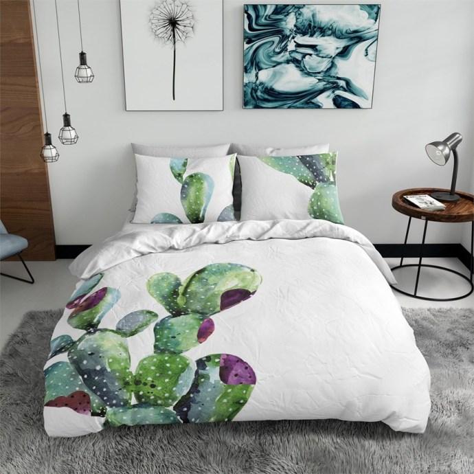 biancheria da letto cactus