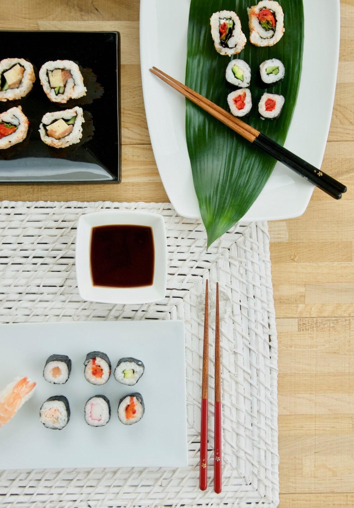 La tavola giapponese