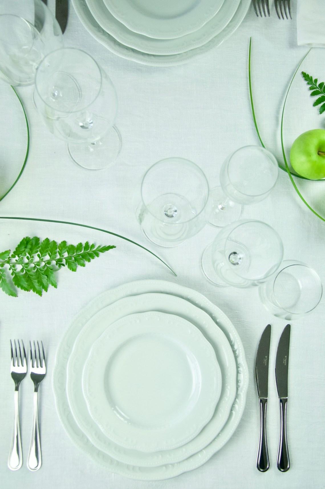 Posizione Bicchieri In Tavola.La Tavola Formale Come Dobbiamo Prepararla Tognana Home