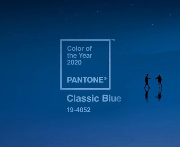 Pantone Classic Blue tendenze arredamento 2020