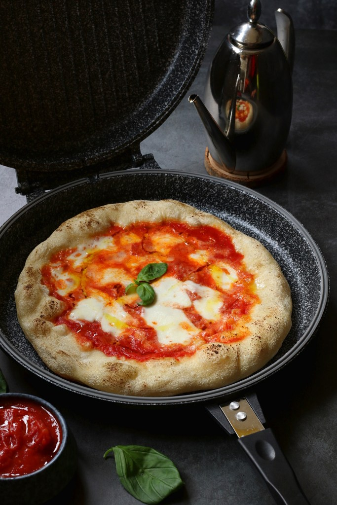 cottura pizza in casa