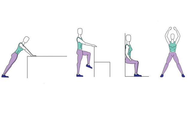 A 10-Minute Office Exercise