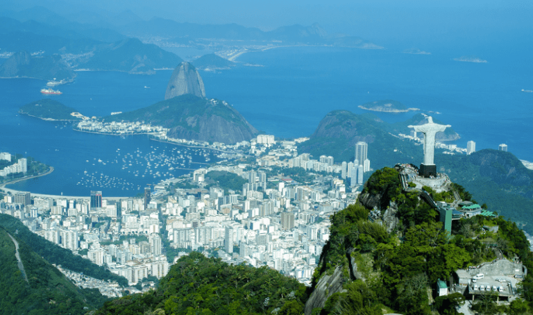 Rio from above.