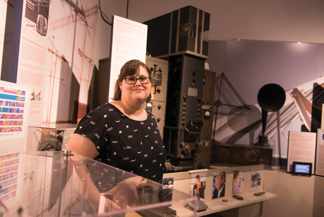 Alice Donahue, Assistant Director, National Electronics Museum