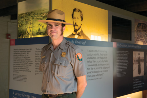 Jim Bailey, Park Ranger, Fort McHenry