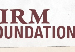 Firm Foundations cropped