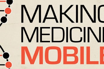Making Medicine mobile cropped with helix