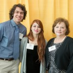 Parker James, Isabel Gwisler, and Sheree Norton pose together