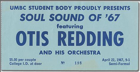 Otis Redding Ticket