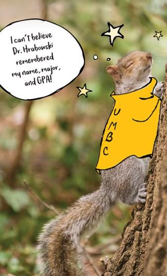 Campus Treasure - Squirrel!