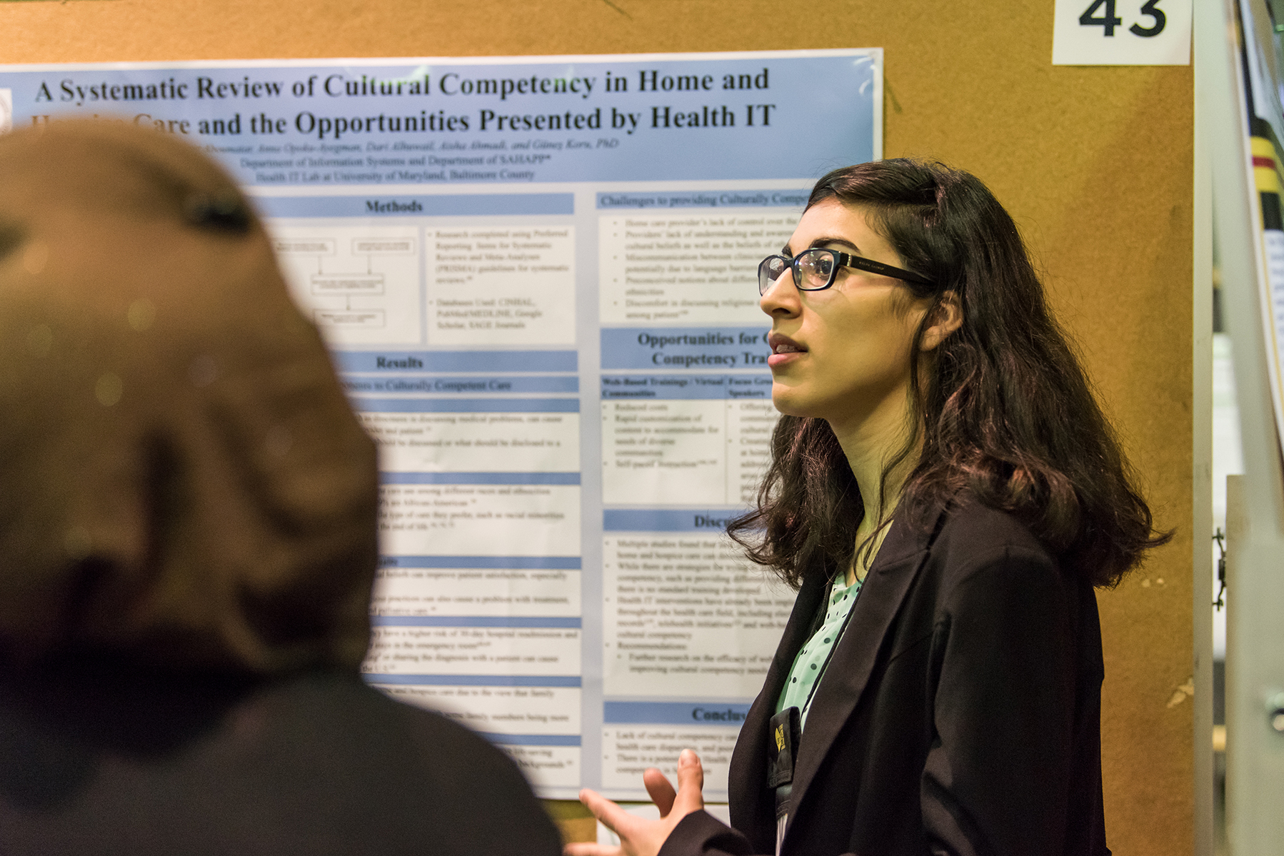 Nour Aboumatar presents findings for URCAD