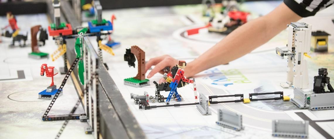 First LEGO League at UMBC, 2017