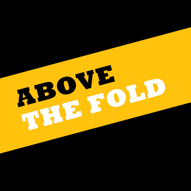 Above the fold square
