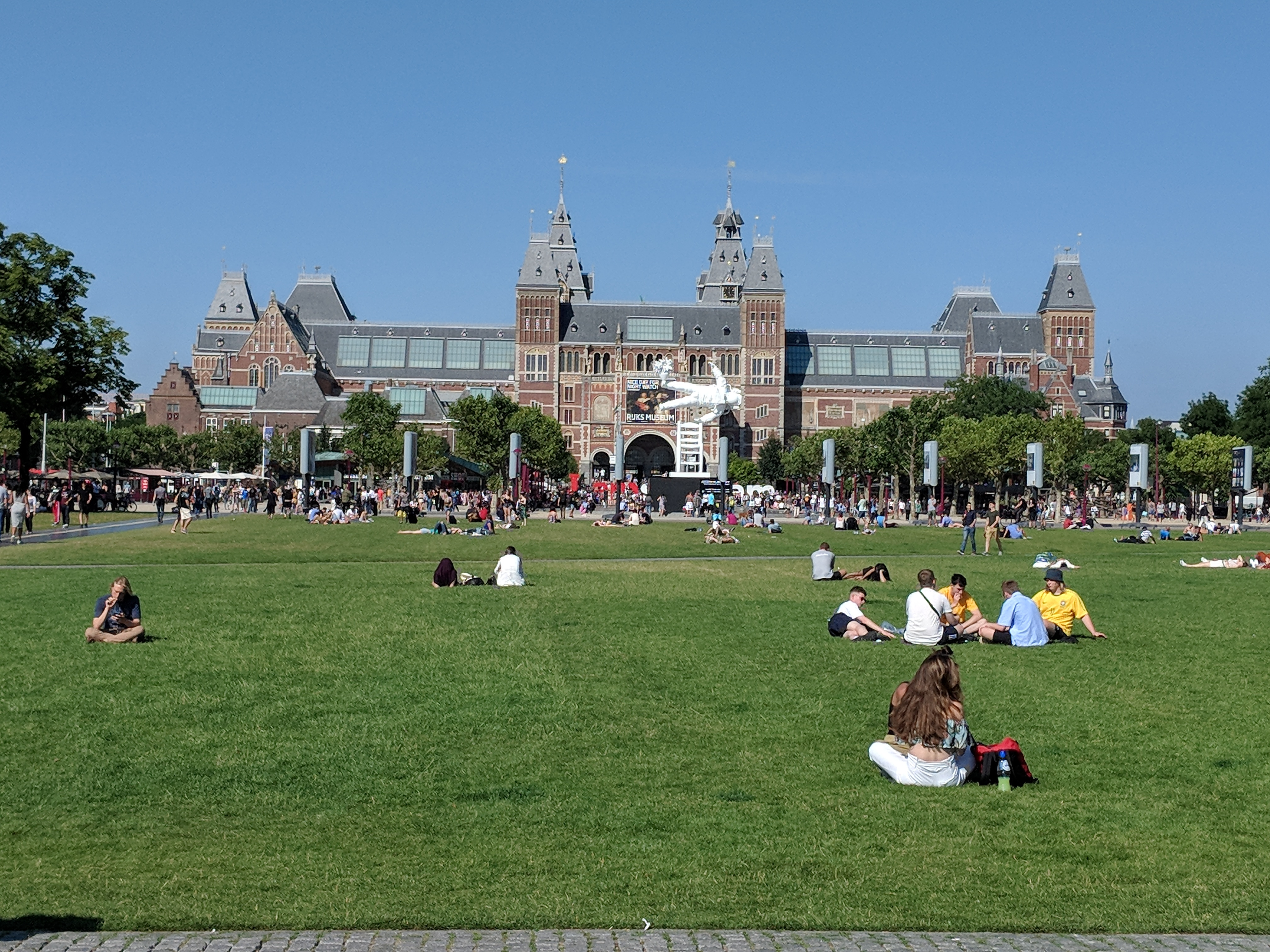 Image of a park abroad