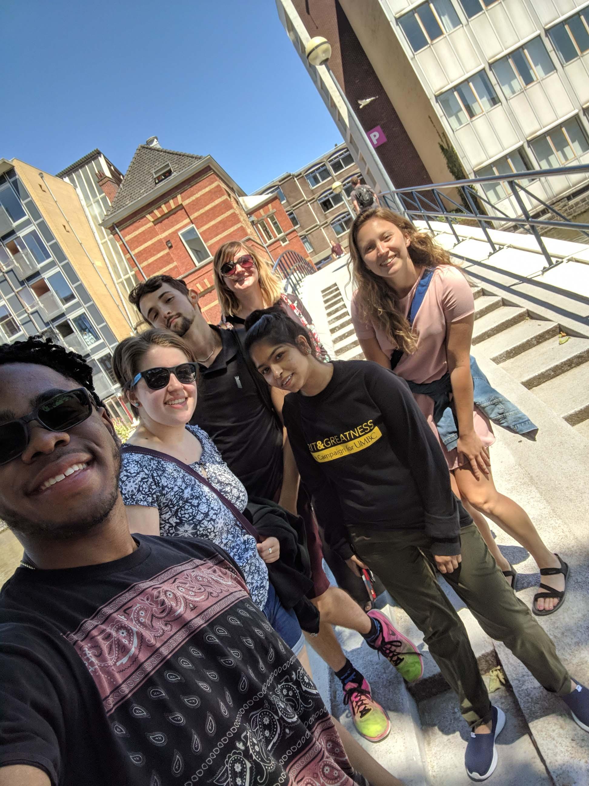 UMBC Study abroad group