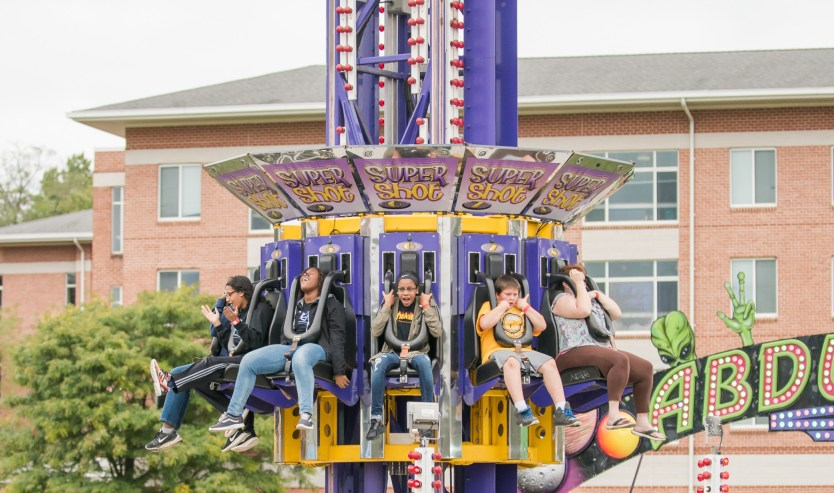 The Homecoming Carnival will run all day, Saturday, October 13.