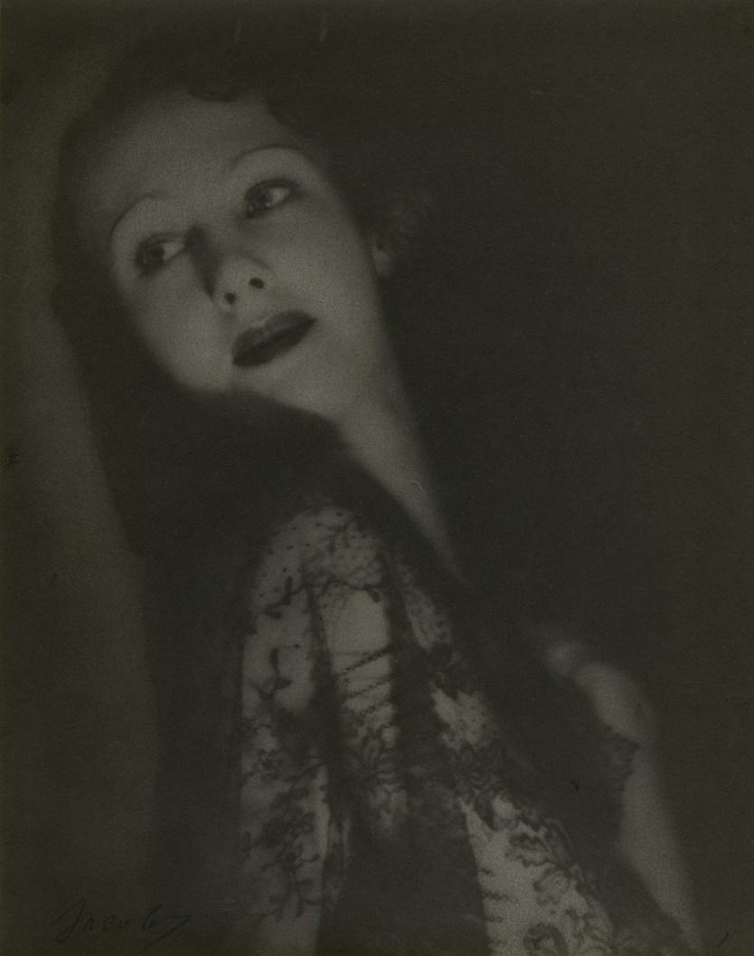Lotte Jacobi, Marlene Dietrich, 1929, Platinum print, Accession no. P2013-31-014, gift of Louis Klaitman