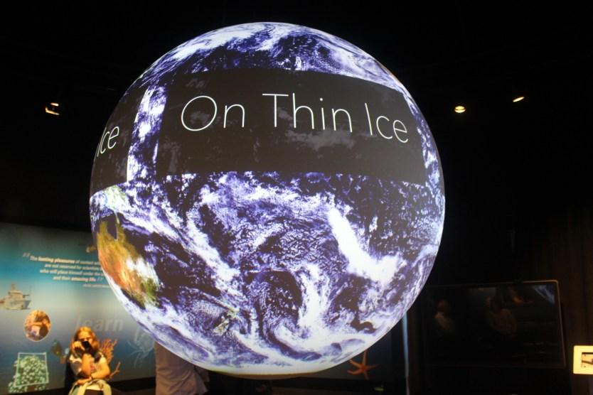 NOAA SOS globe