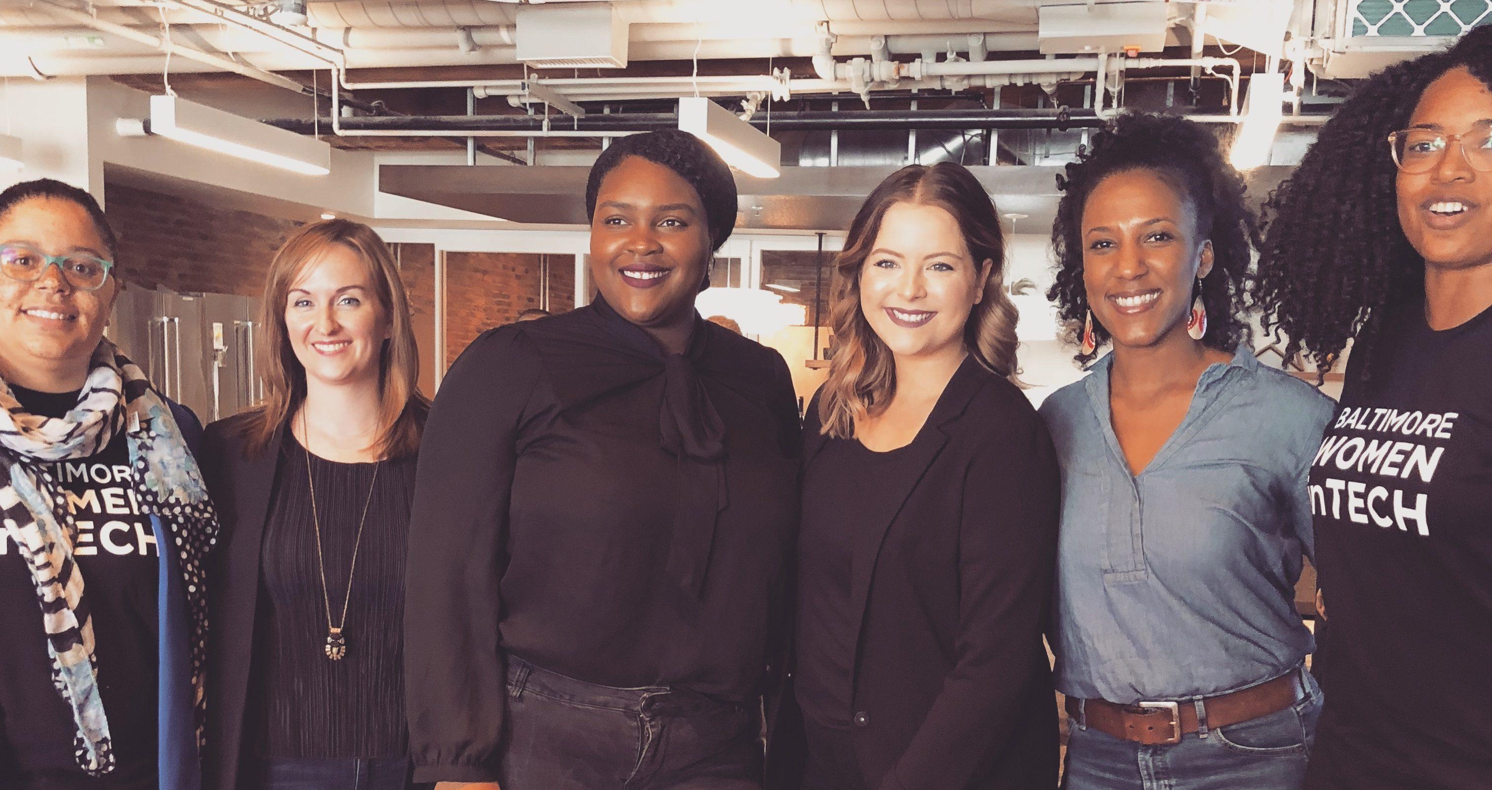 Women in Tech panel that Krach spoke on. Photo courtesy of Krach.