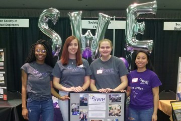 Society of Women in Engineer at Involvement Fest