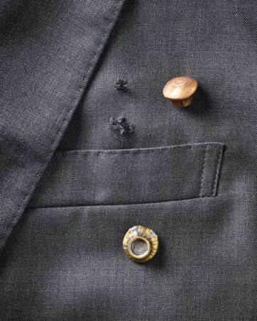 While all Aspetto ballistic packages are third-party tested to make sure they meet and exceed National Institute of Justice specifications, Aspetto likes to do its own testing, too. Here an Aspetto jacket shows bullet holes and the spent rounds retrieved from the anti-ballistic inner layers. (Adam Ewing)