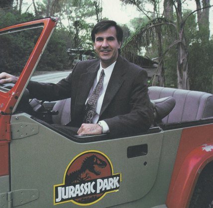 Wolfe successfully marketed the blockbuster Jurassic Park.